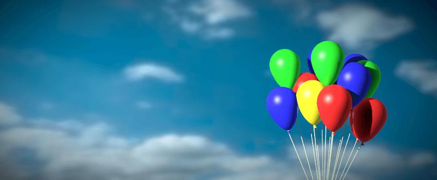 Blender Übung: Luftballons