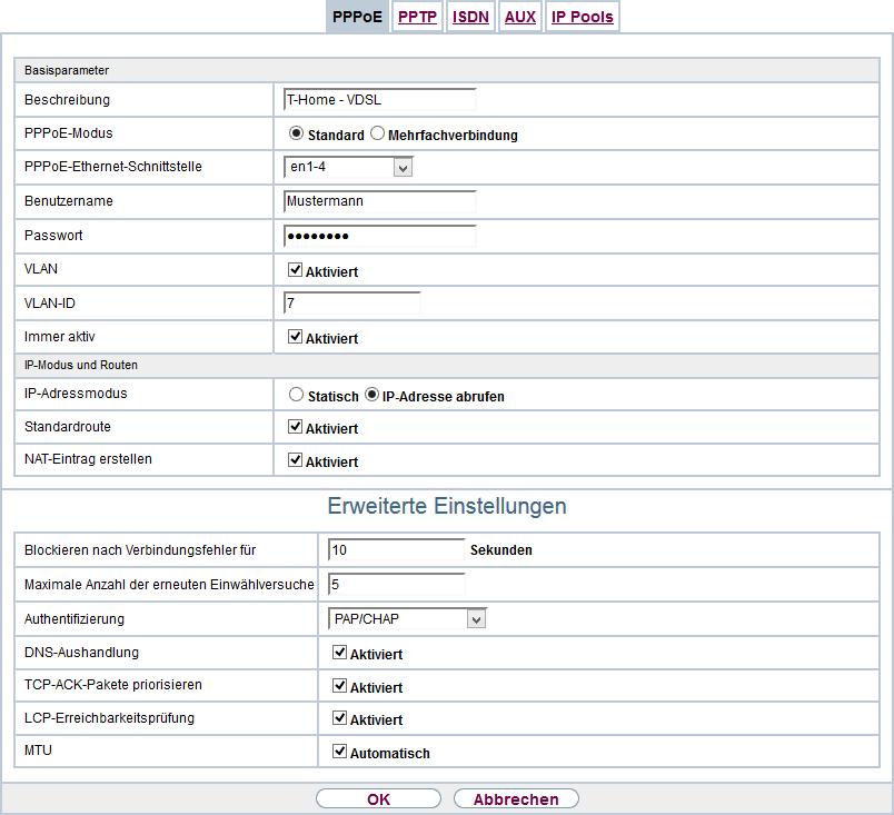 Bintec R1200 Und Telekom Entertain Iptv Tausys