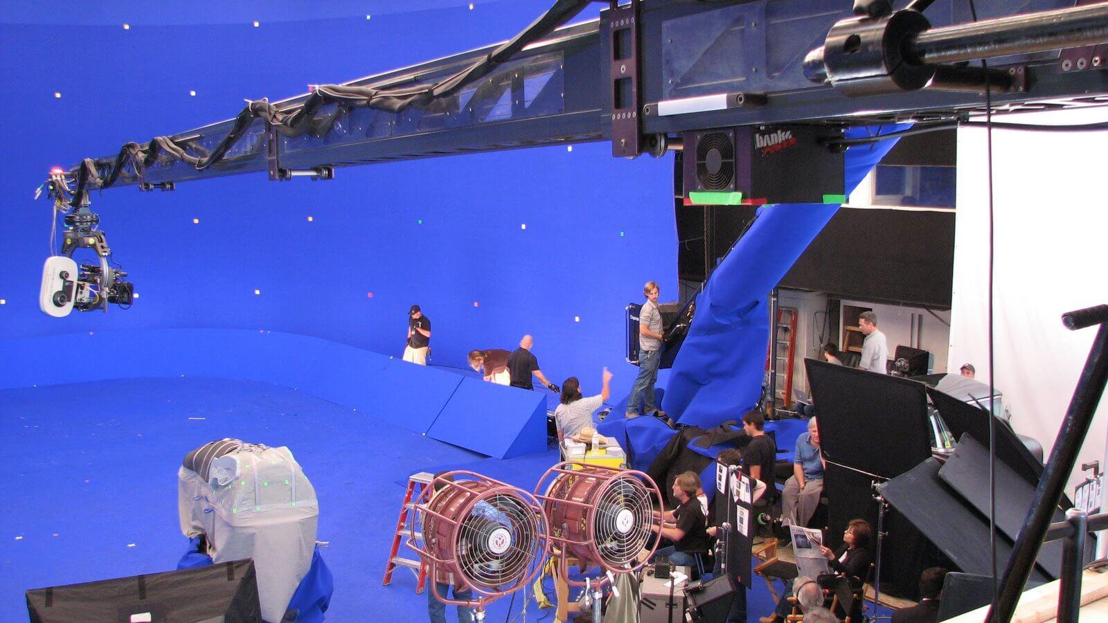 Bluescreen-Technik in Film und Fernsehen