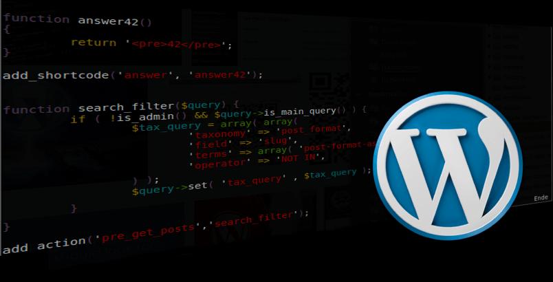 WordPress: Beiträge bestimmter Formatvorlagen ausblenden