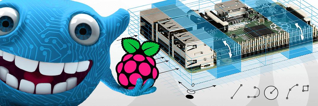 Raspberry Pi 2: Case designen und gewinnen