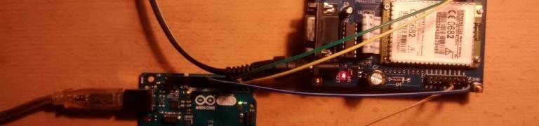 Arduino Uno und Siemens TC35: SMS empfangen und Schalter steuern