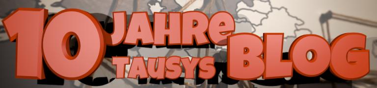 10 Jahre TauSys Blog