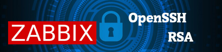 Zabbix: Public key authentification failed